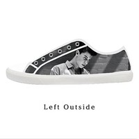 Custom Shawn Mendes Women's Canvas Shoes Fashion Shoes for Women