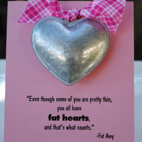 Pitch Perfect Valentines with Metal Heart