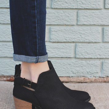 Spellbound Booties - Black