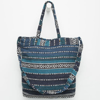 Blanket Tote Bag Navy One Size For Women 26297221001