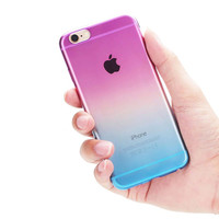 Ombre Transparent Iphone 6 case
