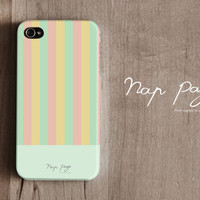 iPhone 4 case , iPhone 4s case and iPhone 3gs case mobile Case handmade : Lovely Pastel background iPhone case