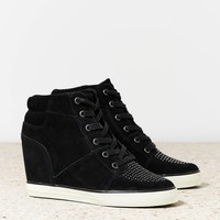 AEO Studded Wedge Sneaker   American Eagle Outfitters