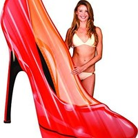 Girly High Heel Shoe Pool Float Raft, 6 Ft. 2 Day Free Shipping USA