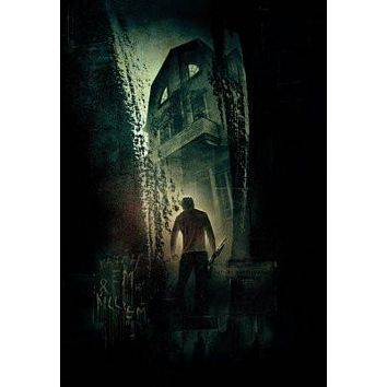 Amityville Horror Movie poster Metal Sign Wall Art 8in x 12in