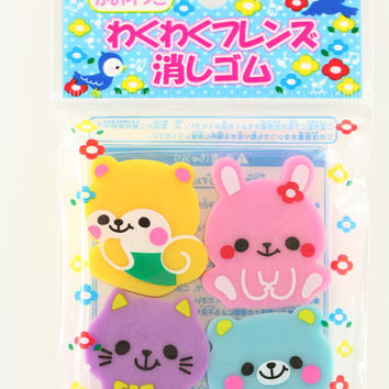 Scented Animal Erasers