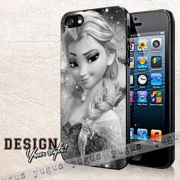 Elsa Frozen Phone Case | Rubber and Plastic Available iPhone 4/4S, 5/5S, 5C and Samsung Galaxy S3, S4