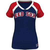 Boston Red Sox Women's Forged Classic Synthetic Fashion Top - MLB.com Shop