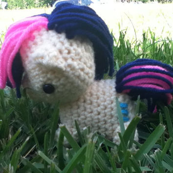 Bonbon My Little Pony Crocheted Plush