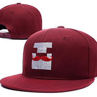 BARONL Markiplier Warfstache Logo Adjustable Snapback Embroidery Caps Hats - Red