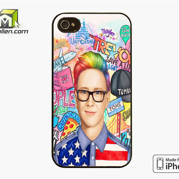 Collage Art Youtubers iPhone 4S Case Cover by Avallen