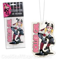 Roller Derby Girl Air Freshener