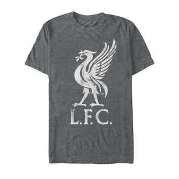 Liverpool FC  - Liverbird Grey T-Shirt