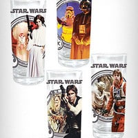 Star Wars Zombie Glasses Set