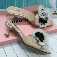 Miu Miu New fashion high heels for women shoes