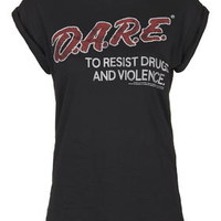 Dare Tee by And Finally - Black