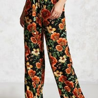 Contemporary Floral Pants