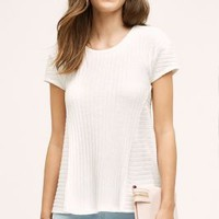 Bordeaux Nilda Ribbed Tee