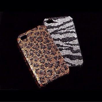 Crystal Couture Collection Cell Phone Case made with Swarovski Elements