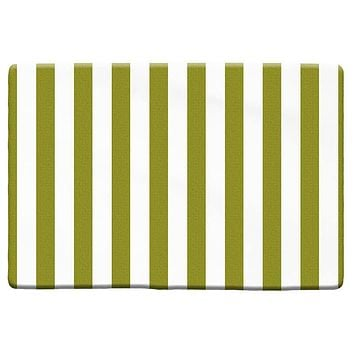 Thick Stripes Pattern Plush Rug