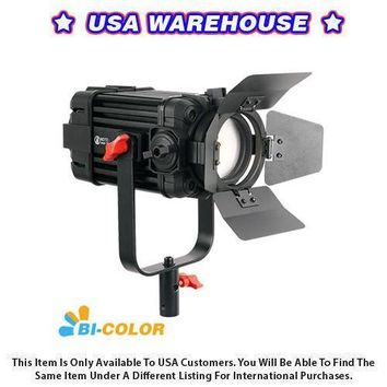 1 Pc CAME-TV Boltzen 60w Fresnel Fanless Focusable LED Bi-Color - USA Warehouse