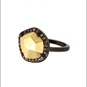 House of Harlow 1960 - Riff Pebble Ring