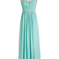 ModCloth Strapless Maxi Princess Charming Dress