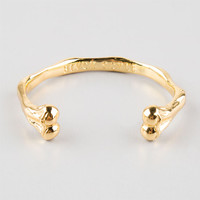 Black Scale Bone Bracelet Gold One Size For Men 25553862101