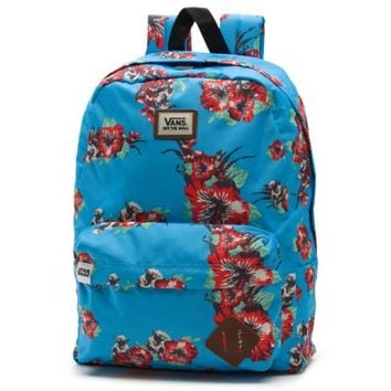Vans Star Wars Yoda Backpack (Yoda Aloha)