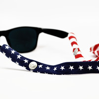 The President Sunglass Straps by CottonSnaps