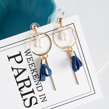 A Royal Navy Affair Drop Earrings