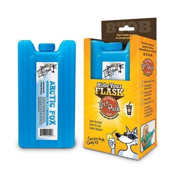 Secret Hidden ICE PACK ALCOHOL FLASK to Hide Booze ndash Holds 36 Ounces Pack of 3
