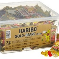 Haribo Gold-Bears Minis, 72-Count: Grocery & Gourmet Food
