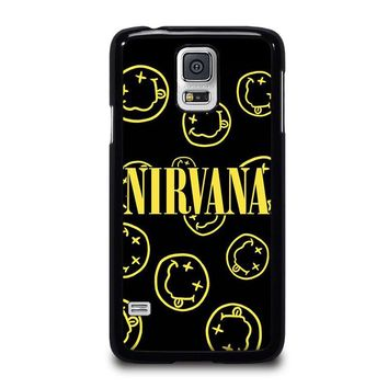 NIRVANA SMILEY COLLAGE Samsung Galaxy S5 Case Cover