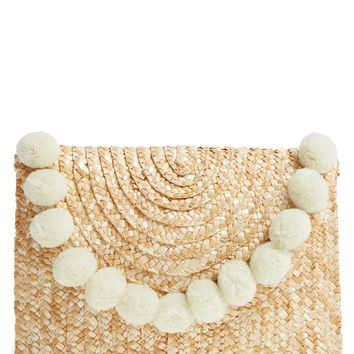 Shiraleah Fortuna Straw Clutch | Nordstrom