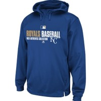 Majestic Men's Kansas City Royals Authentic Collection Royal Performance Hoodie