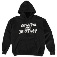 Thrasher Skate And Destroy Pullover Sweatshirt - Men's at CCS