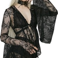 Prayer Long Sleeved Lace | TOP