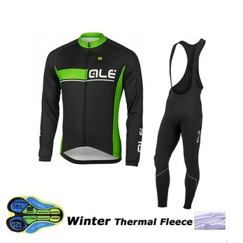 Winter thermal fleece cycling jersey 2016 sport pro team ropa ciclismo hombre invierno men cycling clothing mtb bike clothes