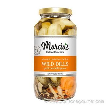 Marcia's Pickled Munchies - Wild Dills  25 oz