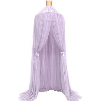240cm Mosquito Net decoration home Baby bed Curtain Round Crib Tent Hung Dome Mosquito Net Photography Props #XT