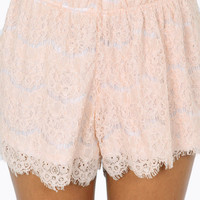 Lace Yourself Shorts $48