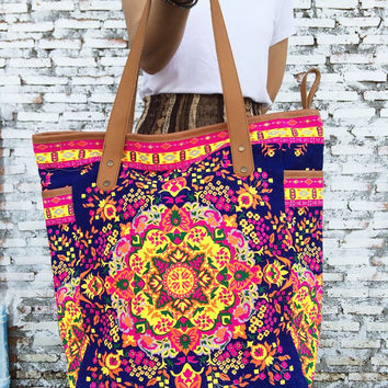 Shop Boho Beach Bag on Wanelo