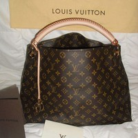 LV Women Shopping Bag Leather Tote Handbag Satchel  Bag G