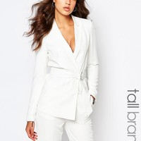 Y.A.S Tall D-Ring Belted Blazer