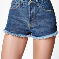 John Galt High Rise Cutoff Denim Shorts at PacSun.com