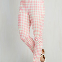 Rockabilly High Waist Block Party Planner Pants by ModCloth