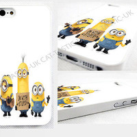 case,cover fits iPhone models>minion,Minions Despicable Me 2015, I'm with Stupid