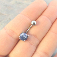 Lapis Lazuli Belly Button Ring Jewelry