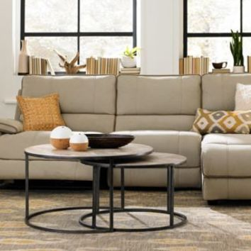 Rylee Fabric Sectional Sofa Living Room Furniture | macys.com